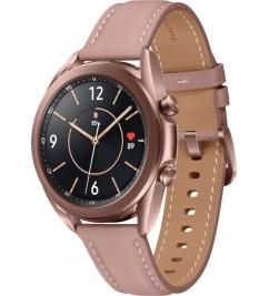 Смарт-часы Samsung Galaxy Watch 3 (SM-R850) кожа Stainless steel Bronze 41mm