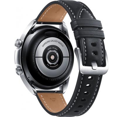 Смарт-часы Samsung Galaxy Watch 3 (SM-R850) кожа Stainless steel Silver 41mm