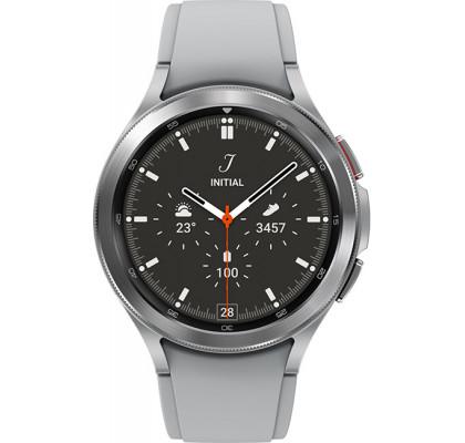 Смарт-часы Samsung Galaxy Watch 4 Classic (SM-R890) силикон Silver 46mm