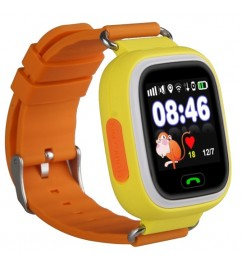 Смарт-часы Smart Baby Watch Q100 (Q90) Yellow/Orange