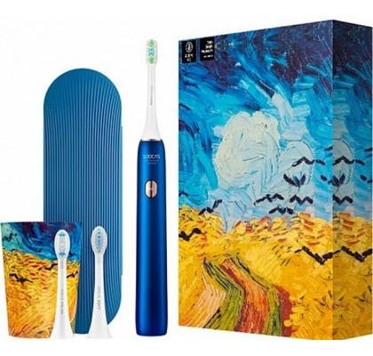 Умная зубная щетка Xiaomi Soocas Sonic X3U Van Gogh Museum Design Blue