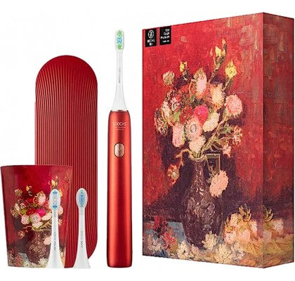Умная зубная щетка Xiaomi Soocas Sonic X3U Van Gogh Museum Design Red