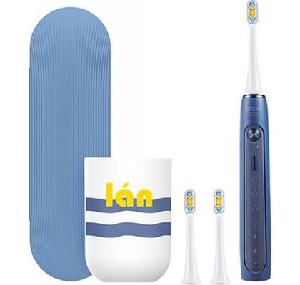 Умная зубная щетка Xiaomi Soocas X5 Toothbrush Whitening Blue + чехол + кружка