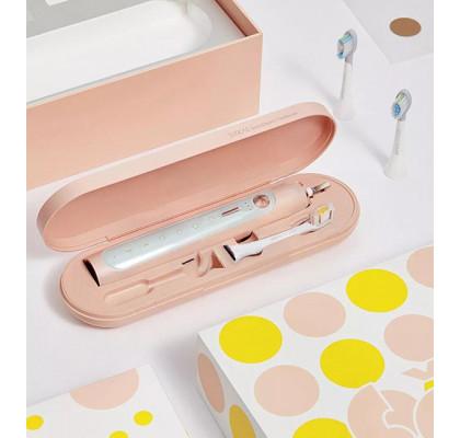 Умная зубная щетка Xiaomi Soocas X5 Toothbrush Whitening Pink + чехол + кружка