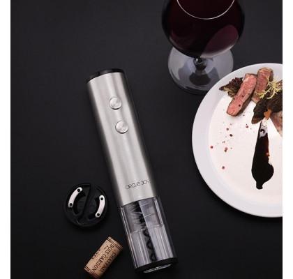Умный штопор Xiaomi Electric Wine Bottle Opener Circle Joy Silver