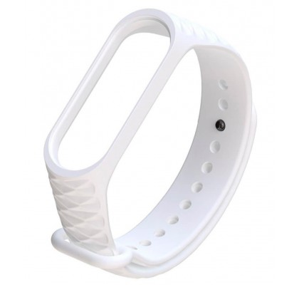 Xiaomi ремешок для браслета Mi Band 3/Band 4 Overlap White