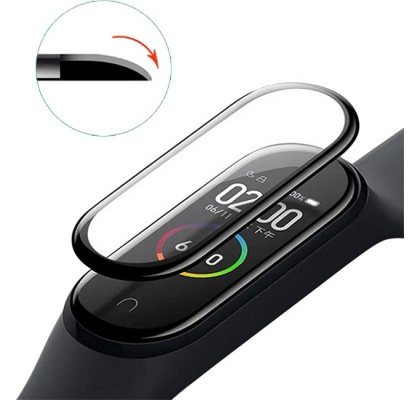 Защитное 10D стекло для Xiaomi Mi Band 6