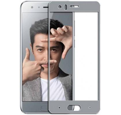 Защитное 2D стекло для Huawei Honor 9 (с рамкой Grey)
