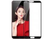 Защитное 2D стекло для Huawei Honor V10 (с рамкой Black)