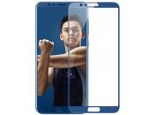 Защитное 2D стекло для Huawei Honor V10 (с рамкой Blue)