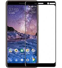 Защитное 2D стекло с рамкой для Nokia