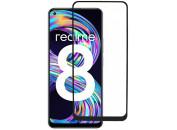 Защитное 2D стекло для Realme 8 5G (с рамкой Black)