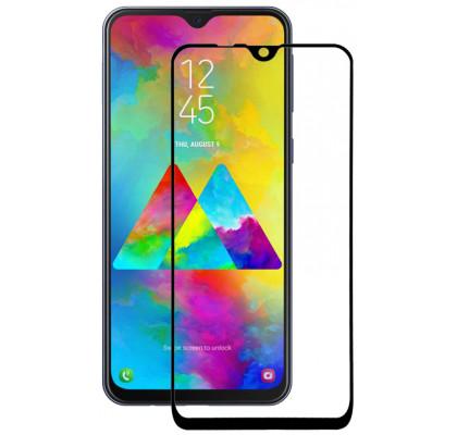 Защитное 2D стекло для Samsung М10 (М105) (с рамкой Black)