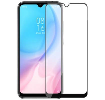 Защитное 2D стекло для Xiaomi Mi CC9 / Mi9 Lite (с рамкой Black)