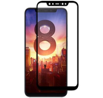 Защитное 2D стекло с рамкой для Xiaomi