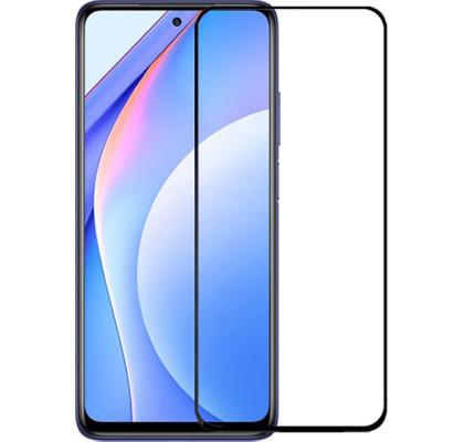 Защитное 2D стекло для Xiaomi Mi 10T Lite / Poco X3 / X3 Pro (с рамкой Black)