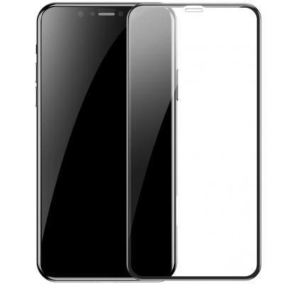 Защитное 2D стекло для iPhone 11 Pro (с рамкой Black)