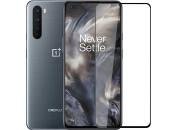 Защитное 3D стекло для OnePlus Nord (c рамкой Black)