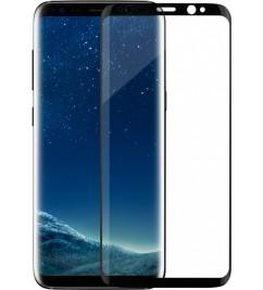 Защитное 3D стекло с рамкой для Samsung