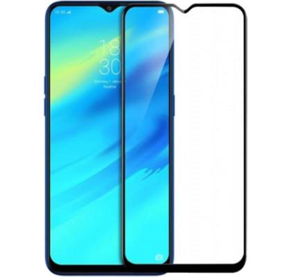 Защитное 2D стекло для Samsung М30 (М305) (с рамкой Black)