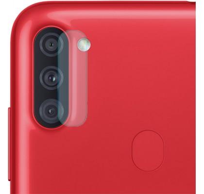 Защитное 2D стекло для камеры Samsung A11