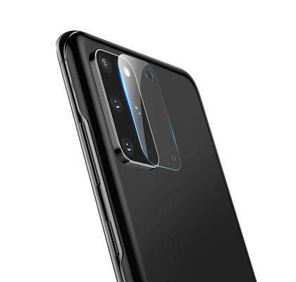 Защитное 2D стекло для камеры Samsung S20