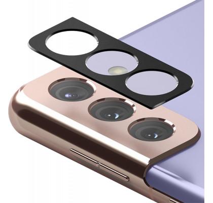 Защитное 2D стекло для камеры Samsung S21 Black