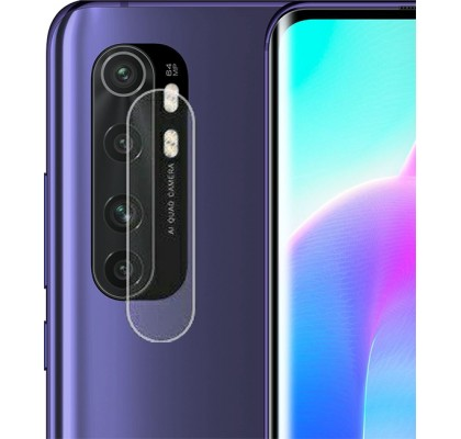 Защитное 2D стекло для камеры Xiaomi Mi Note 10 Lite