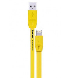 Кабель USB/Lightning Remax RC-001i Yellow
