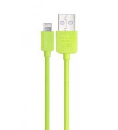 Кабель USB/Lightning Remax RC-006i Light green