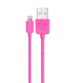 Кабель USB/Lightning Remax RC-006i Pink