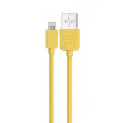 Кабель USB/Lightning Remax RC-006i Yellow