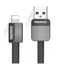 Кабель USB/Lightning Remax RC-044i Black