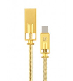 Кабель USB/Lightning Remax RC-056i Gold