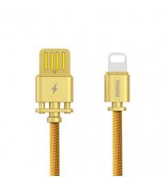 Кабель USB/Lightning Remax RC-064i Gold