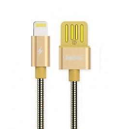 Кабель USB/Lightning Remax RC-080i Gold