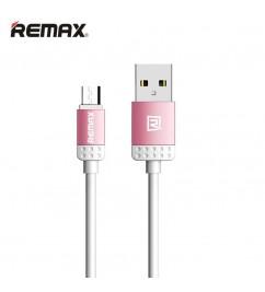 Кабель USB/micro USB Remax RC-010m Pink