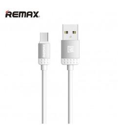 Кабель USB/micro USB Remax RC-010m Silver