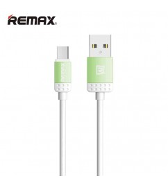 Кабель USB/micro USB Remax RC-010m Light green