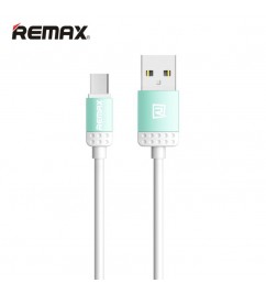 Кабель USB/micro USB Remax RC-010m Blue