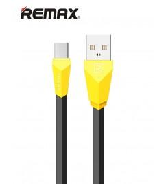 Кабель USB/micro USB Remax RC-030m Black/Yellow
