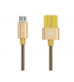 Кабель USB/micro USB Remax RC-080m Gold
