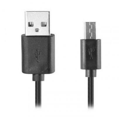 Кабель USB/micro USB удлиненный штекер Extra Digital Black