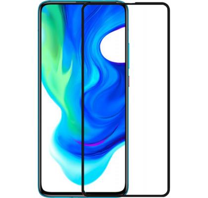 Защитное 2D стекло для Xiaomi Poco M3 (с рамкой Black)