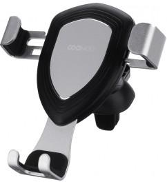 Автомобильный держатель Xiaomi Gravity induction car phone holder T100 Space Silver