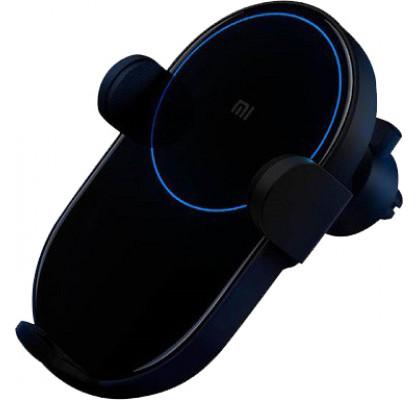 Автомобильный держатель с беспроводной зарядкой  Xiaomi Mi Qi Car Wireless Charger (WCJ02ZM) (GDS4127GL) Black