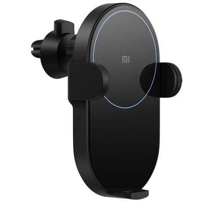 Автомобильный держатель с беспроводной зарядкой  Xiaomi Mi Qi Car Wireless Charger (WCJ02ZM) Black