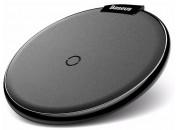 Беспроводное зарядное устройство Baseus iX Desktop Wireless Charger Leather Black