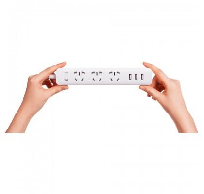 Сетевой фильтр Xiaomi Mi Power Strip 3 розетки + 3 USB (CN) White (XMCXB04QM, NRB4027CN)