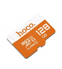 Карта памяти Hoco microSD 128Gb class 10